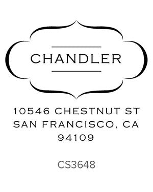 Custom Address Stamp CS3648