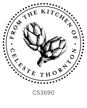 Custom Kitchen + Craft Stamp CS3690