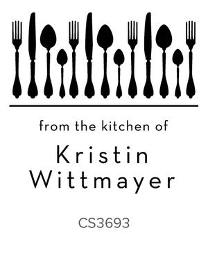 Custom Kitchen + Craft Stamp CS3693
