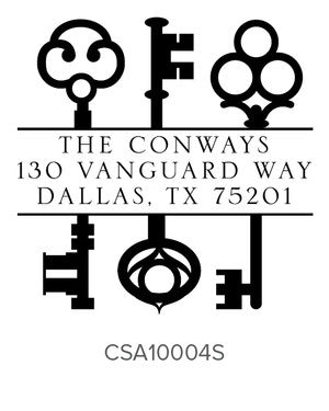 Custom Address Stamp 10004S
