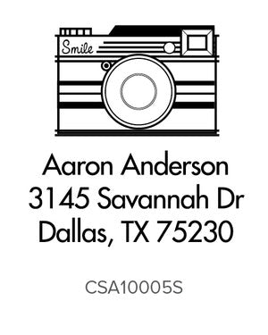 Custom Address Stamp 10005S