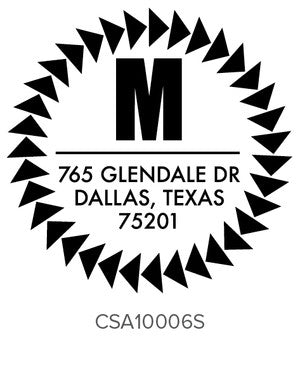 Custom Address Stamp 10006S
