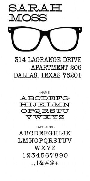 Custom Address Stamp 10007S