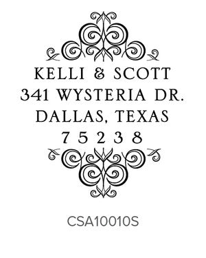 Custom Address Stamp 10010S
