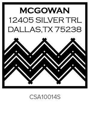 Custom Address Stamp 10014S