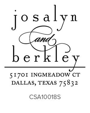 Custom Address Stamp 10018S