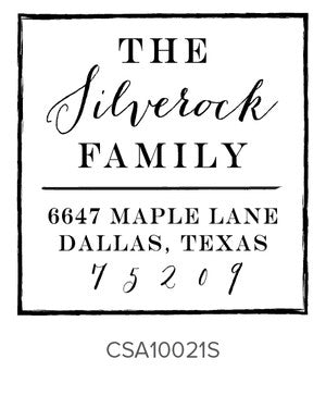Custom Address Stamp 10021S