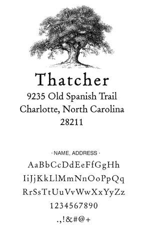 Custom Address Stamp CS3650