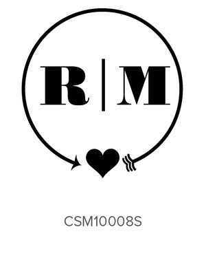 Custom Monogram Stamp CSM10008S