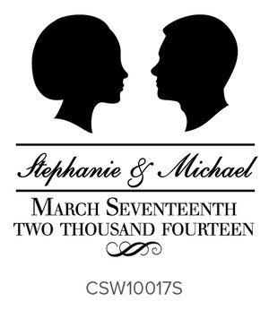 Custom Wedding Stamp CSW10017