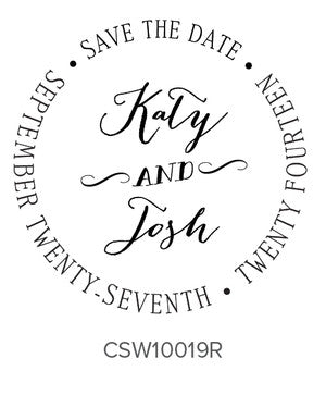 Custom Wedding Stamp CSW10019