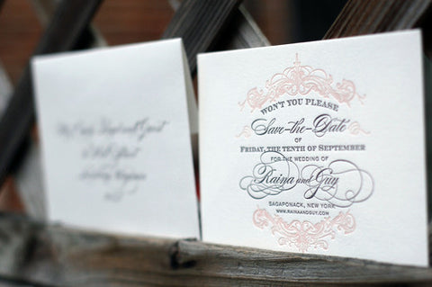 Guy - Haute Papier Luxe Deux Save the Date