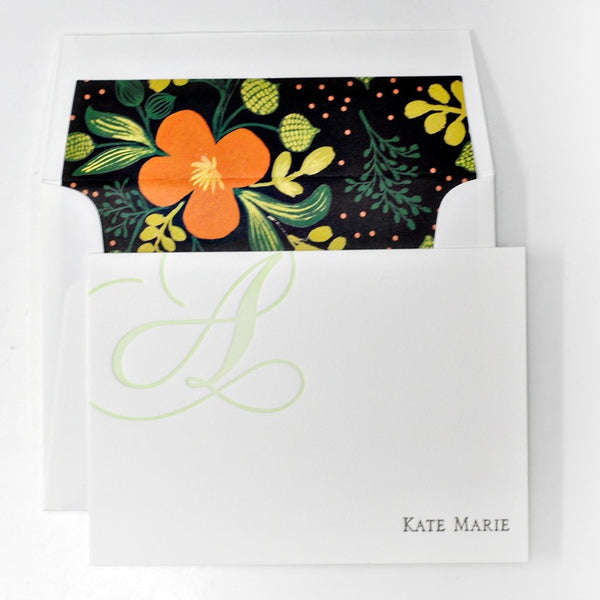 Personal Stationery - Design 38