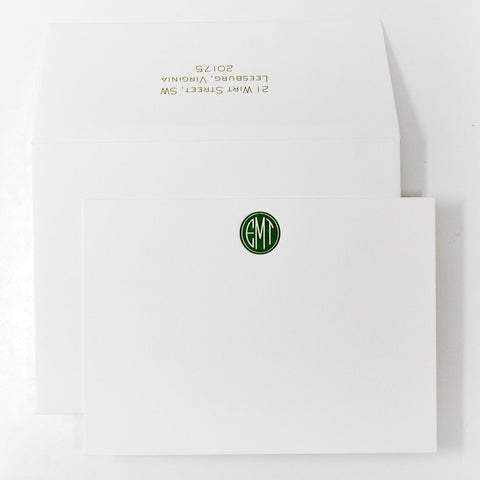 Personal Stationery - Design 40