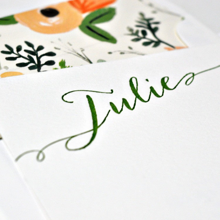 Personal Stationery - Design 44