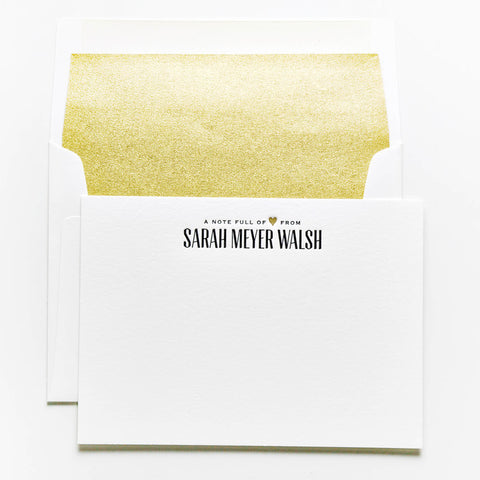 Personal Stationery - Design 52