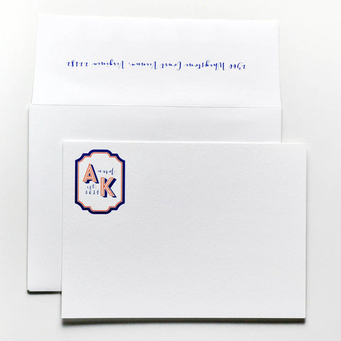 Personal Stationery - Design 57