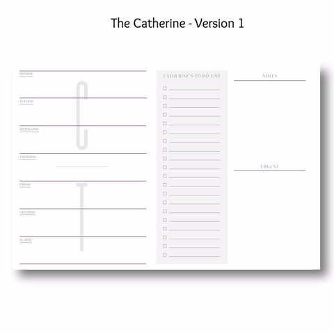 The Catherine - Personalized Desk Pad