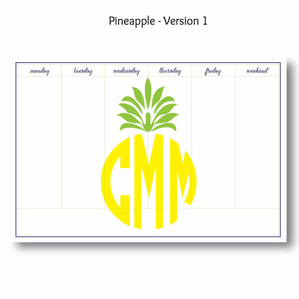 Pineapple - Personalized Desk Pad
