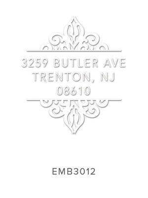 Custom Address Embosser 3012