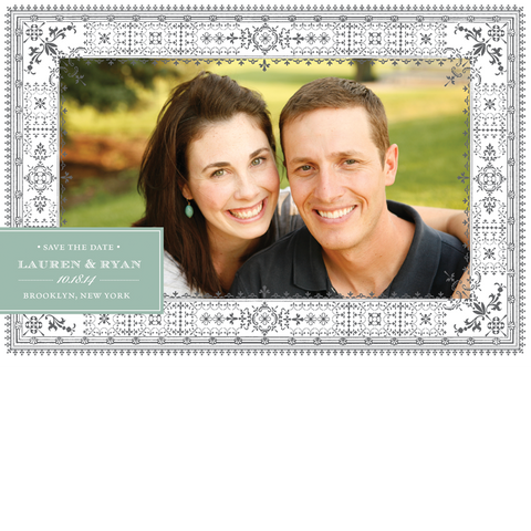 Filigree Border Save the Date