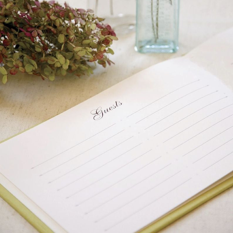 Classic Guestbook Eggplant