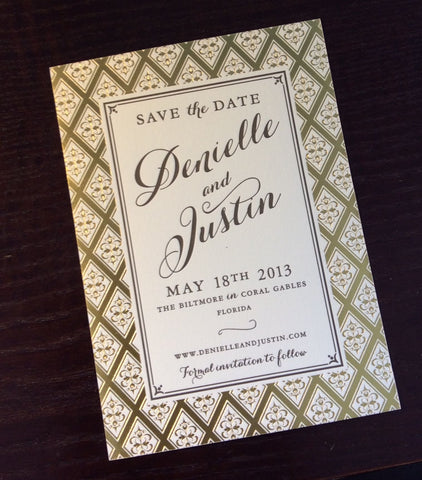 Fairfield Save the Date - Dauphine Press