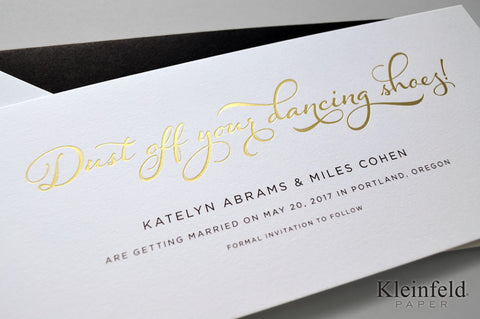 Whimsical Charm - Save the Date