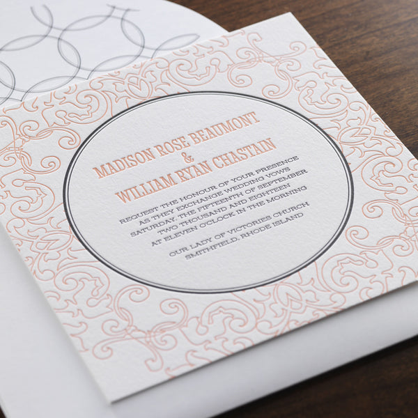 checkerboard stationery | paper & pearl, Wedding invitations