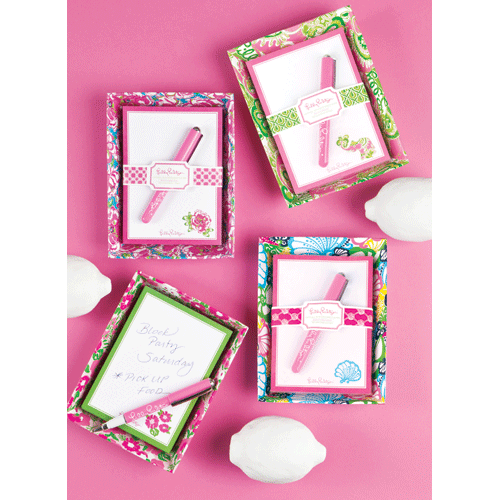 Lucky Charms Catchall with Pad by Lilly Pulitzer®