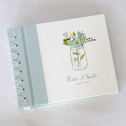 Personalized Small Album Mason Jar