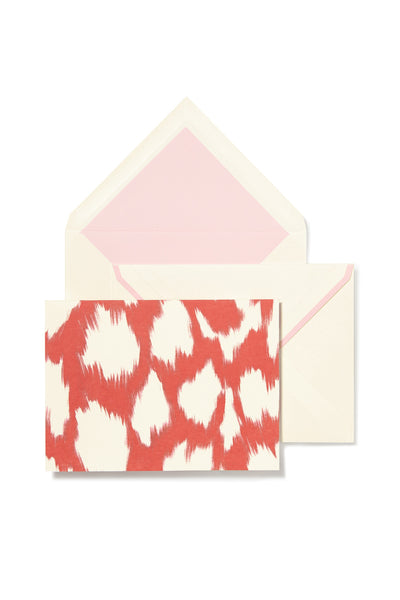 kate spade new york® painterly cheetah notecards