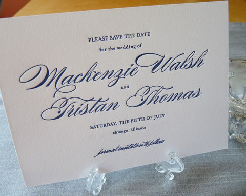 Mackenzie - Haute Papier Luxe Deux Save the Date