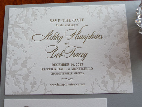 Ashley - Haute Papier Luxe Deux Save the Date