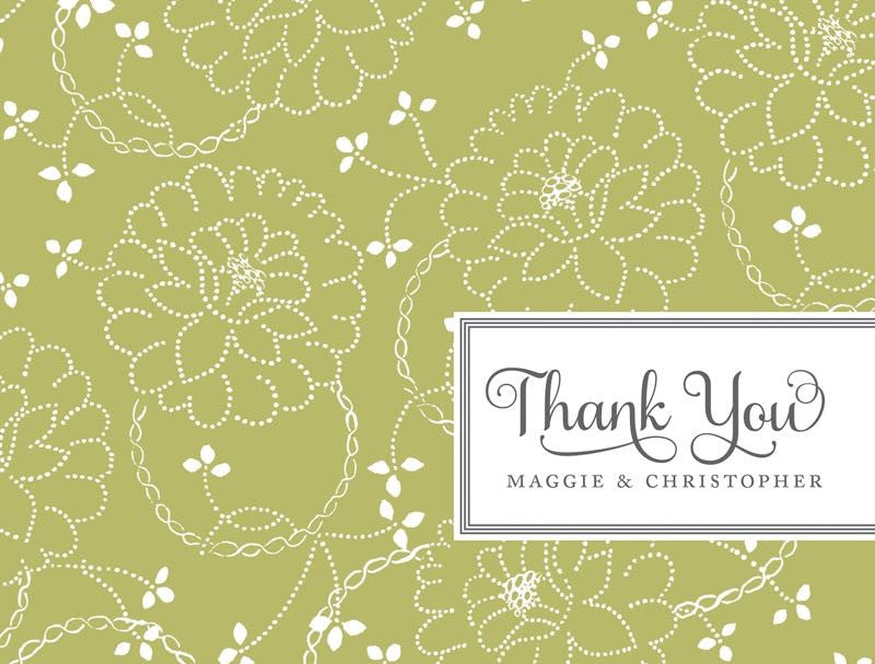Sage Floral - Bridal Stationery