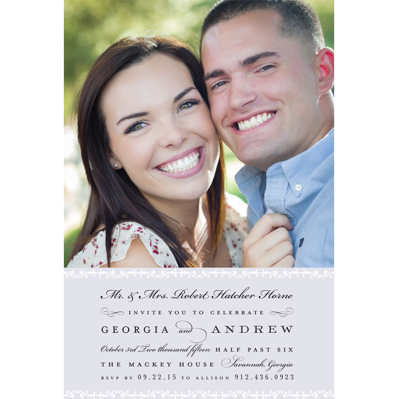 Soft and Simple Save the Date