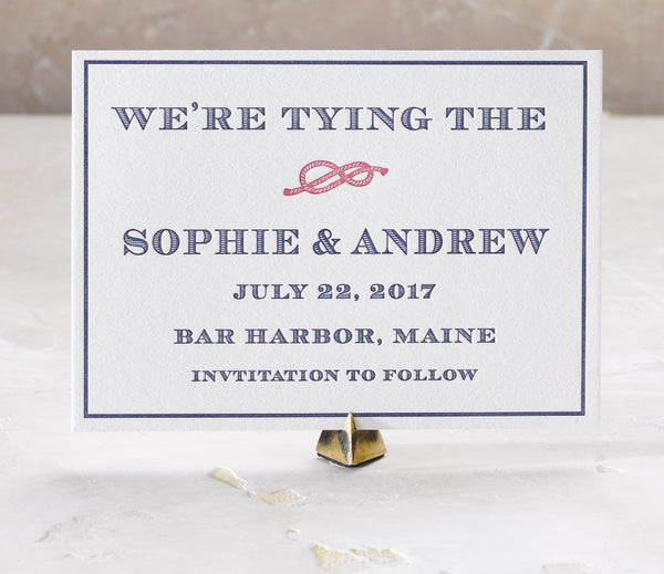 Sophie + Andrew Save the Date
