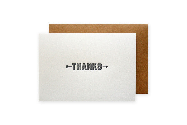Thanks - Note Cards