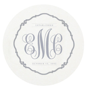 Letterpress Coasters - Traditional
