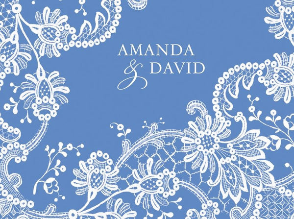 White Floral - Bridal Stationery