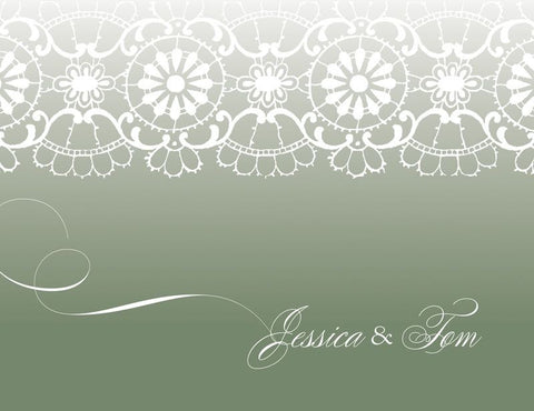 White Lace - Bridal Stationery