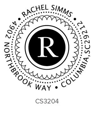 Custom Address Stamp CS3204