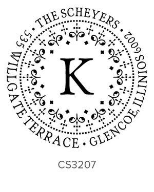 Custom Address Stamp CS3207