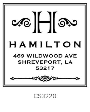 Custom Address Stamp CS3220