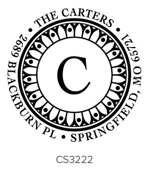 Custom Address Stamp CS3222
