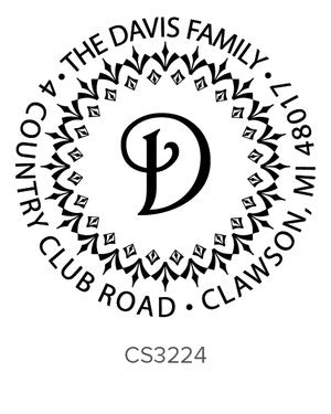 Custom Address Stamp CS3224