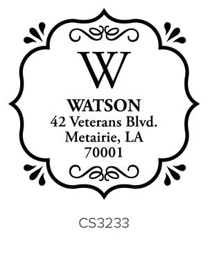 Custom Address Stamp CS3233