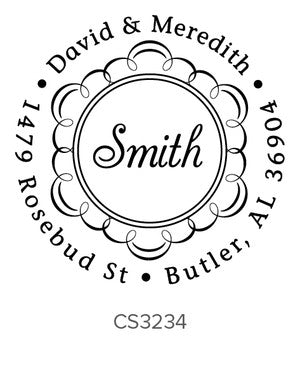 Custom Address Stamp CS3234