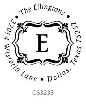 Custom Address Stamp CS3235