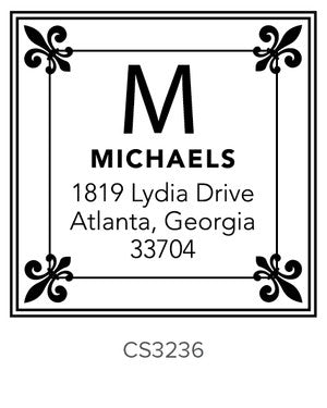 Custom Address Stamp CS3236